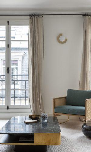 Appartement en duplex avec vue sur les toits de Paris